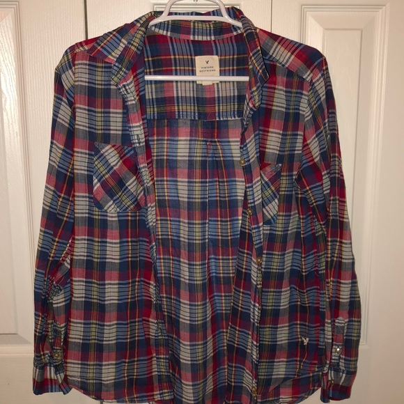 American Eagle Outfitters Tops - American eagle plaid button down